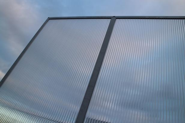 Pext   Polycarbonaat Panelen   2UV   Helder   1022 x 1052 mm