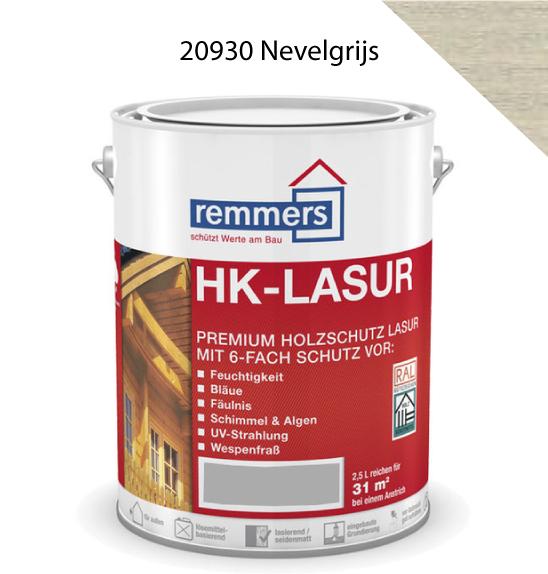 Remmers | HK Lazuur Grey Protect 20930 Nevelgrijs | 2.5 lite