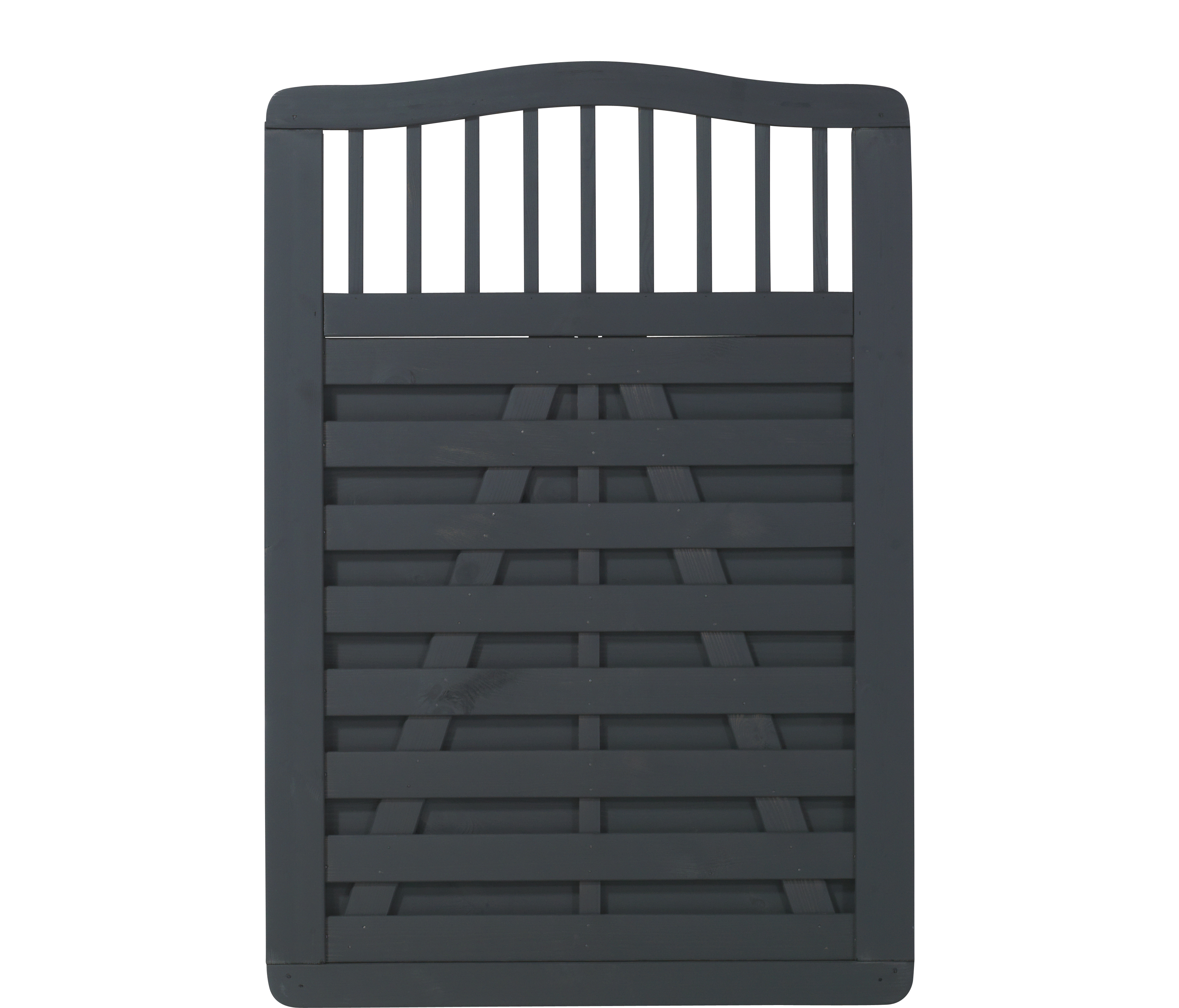 DK Plus | Rondo poort 100x142 | Antraciet