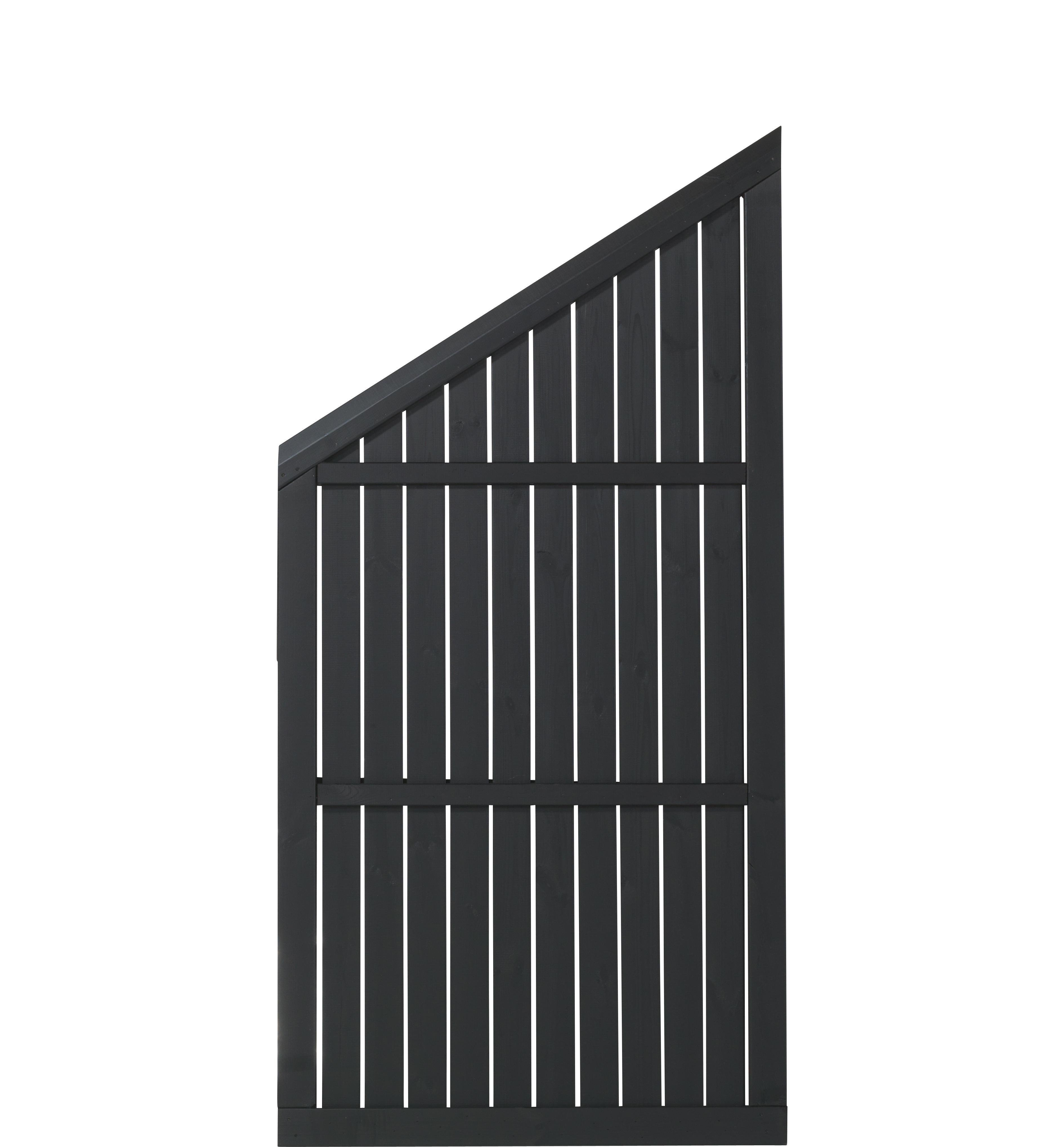 DK Plus | Atrium scherm 90x180/122.5 | Zwart