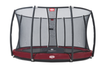 BERG InGround Elite+ 330 Rood + Safety Net T-se...