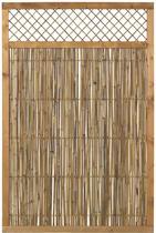 DK Plus | Bamboe scherm met trellis 120x180