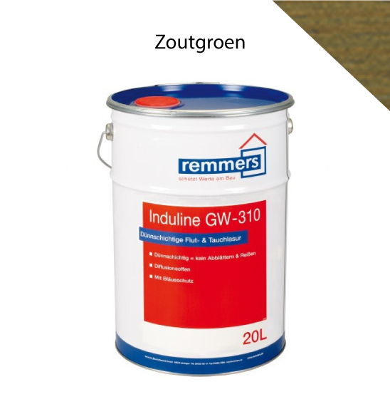 Remmers | Induline GW-310 | Zoutgroen | 2,5 L