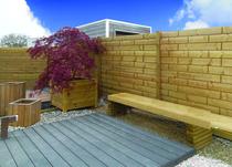 Exterior Living | Tuinscherm Brick 183x200cm