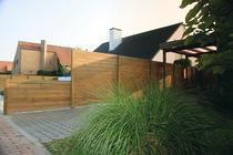 Exterior Living | Tuinscherm Laag Massief | 183x93 cm