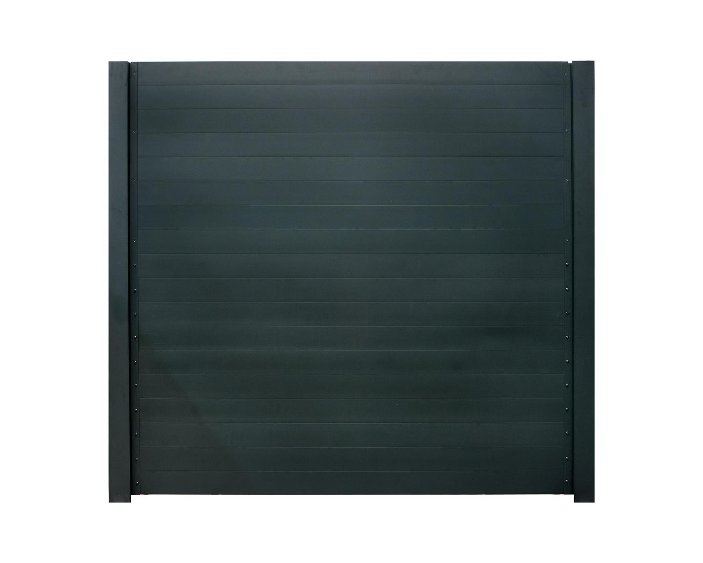 IdeAL | Aluminium scherm 180x200 | Antraciet