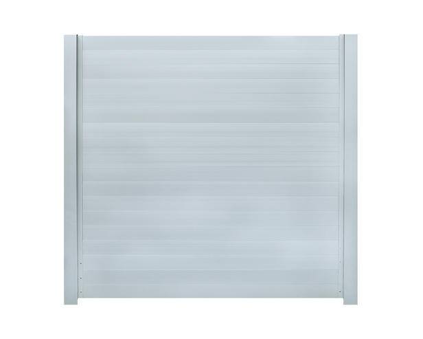 IdeAL | Aluminium scherm 180x180 | Zilver