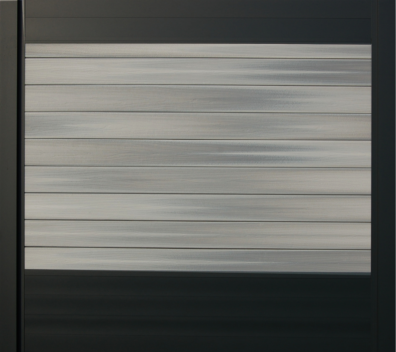 IdeAL scherm | Antraciet- Horizon Castle Grey | 180x180 | 9 planks