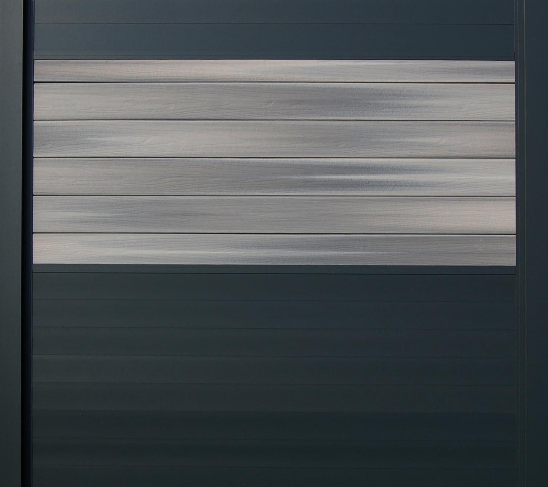 IdeAL scherm | Antraciet- Horizon Castle Grey | 180x180 | 6 planks