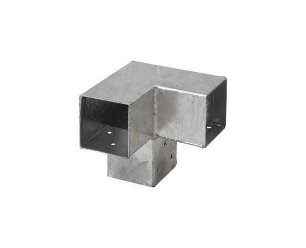 Cubic hoekverbinding dubbel | 7 x 7 cm