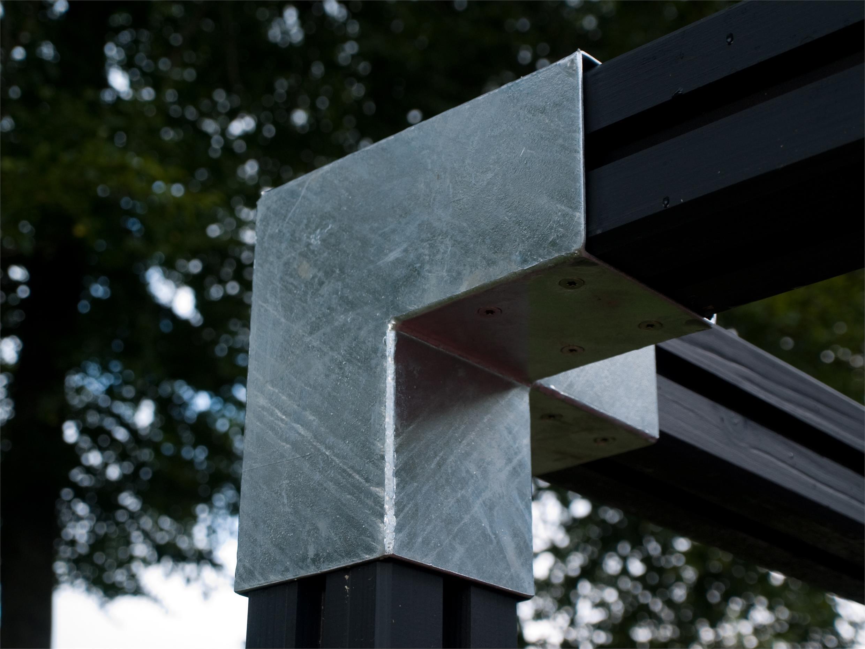 Afbeeldingsresultaat voor pergola hout cubic