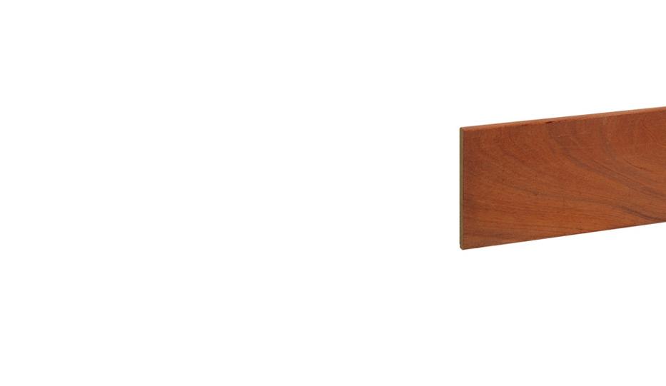 Fijnbezaagd beschoengsplank duurzaamheidsklasse 1 2 17 x 200 mm