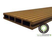 Duowood | Standaard vlonderplank 25x146 | Havanna 300cm