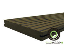 DuoWood | Pro massief vlonderplank 21x146 | Lava 300 cm