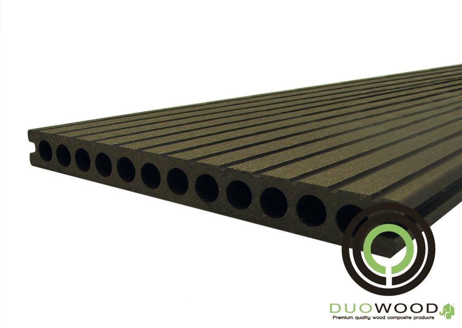 DuoWood | XWB vlonderplank 25x250 | Lava 400 cm