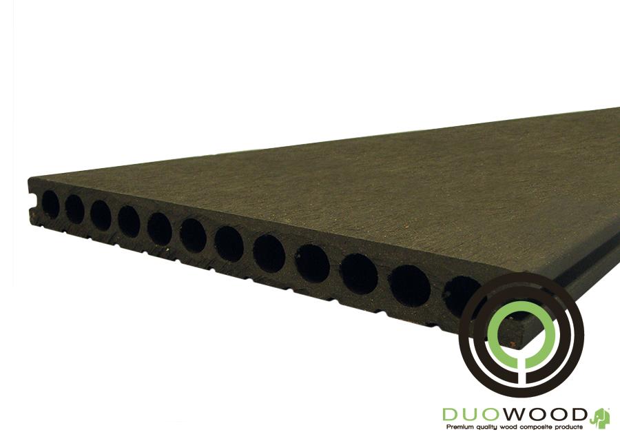 DuoWood | XWB vlonderplank 25x250 | Lava 500 cm