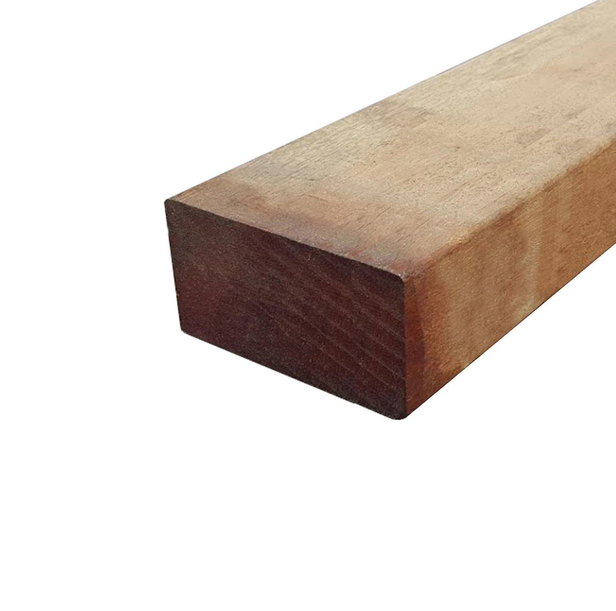 Hardhouten AVE regel | 45 x 95 mm | Geschaafd | 100 cm