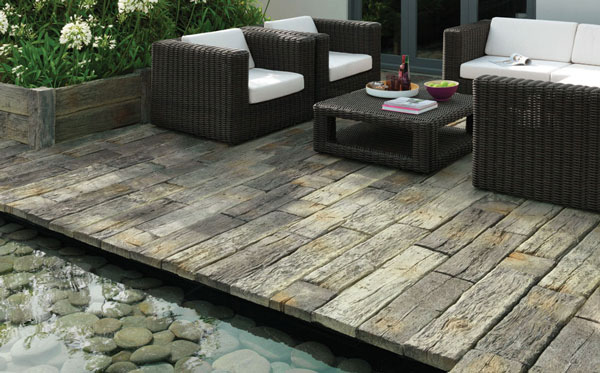 Redsun Marshalls Timberstone Plank 90x22 5x5 Driftwood