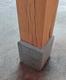 Arduinen sokkel | Blauw hardsteen | 21.5 x 21.5 cm
