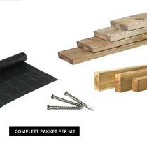 Dekdeel Grenen | 28 x 145 mm COMPLEET PAKKET