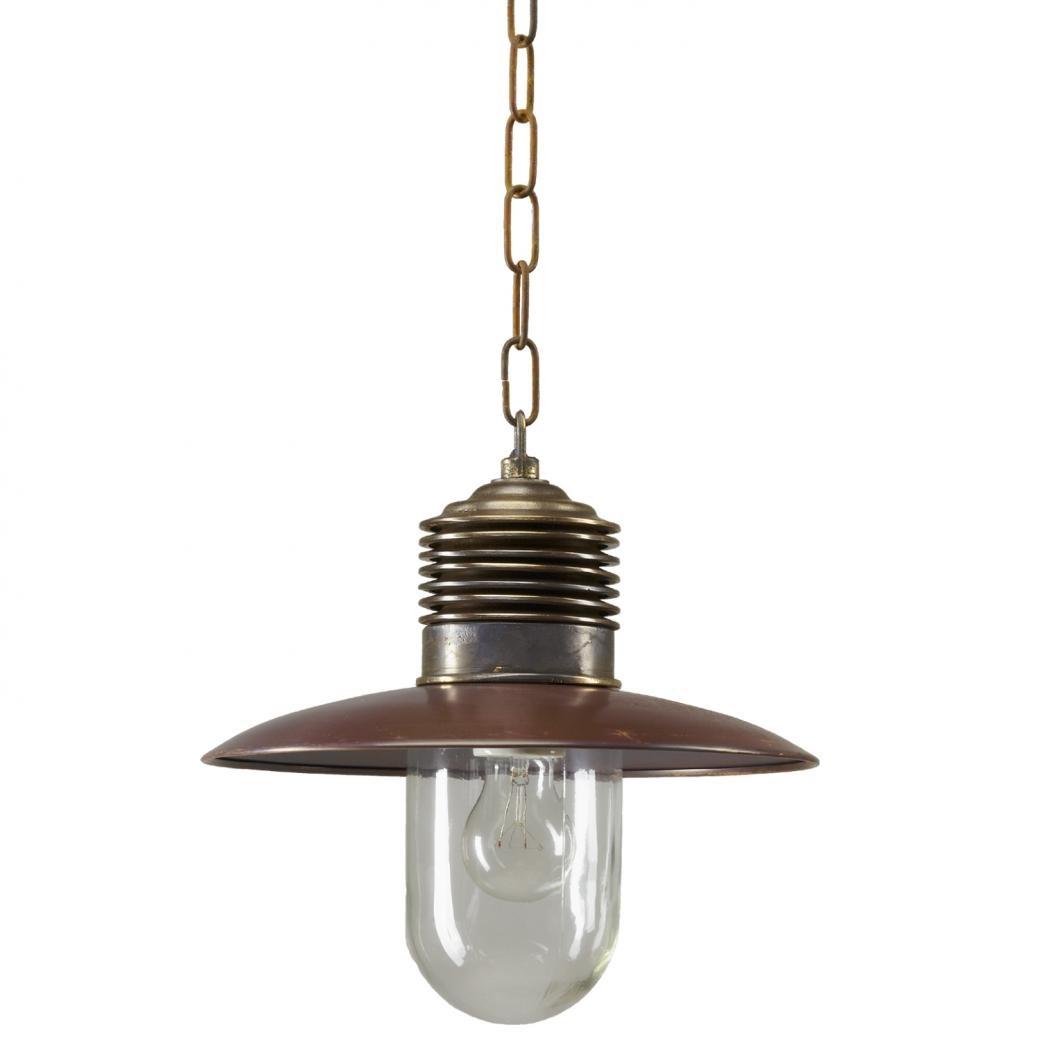 KS Verlichting | Hanglamp Ampère | Brons/ Koper