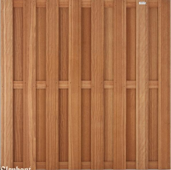 Westwood | Tuinscherm Bangkirai | 14-planks 180cm