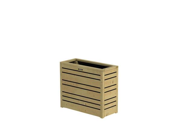 Hillhout | Flux Bloembak Excellent 60 | 70x30x60 cm