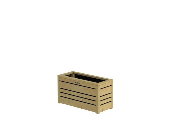 Hillhout | Flux bloembak Excellent 38 | 70x30x38 cm