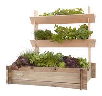 Woodvision | Minigarden met plantenbakken