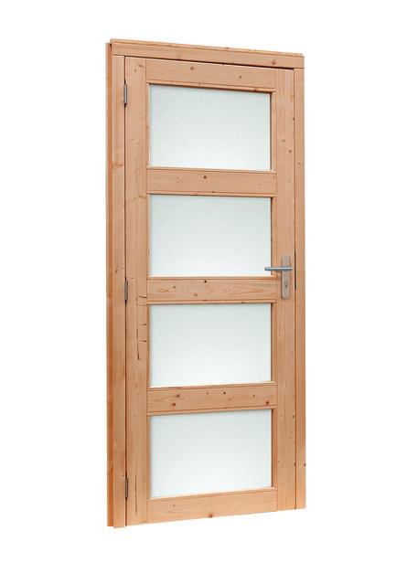 Douglasvision | Enkele glasdeur 4-ruits | Met melkglas