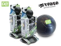 EXIT | Striker Streetsoccer (2st.) + EXIT Mini Foam Ball (ø15cm)