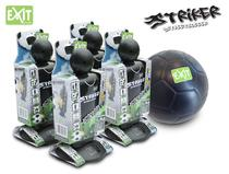 EXIT | Striker Streetsoccer (4st.) + EXIT Mini Foam Ball (ø15cm)