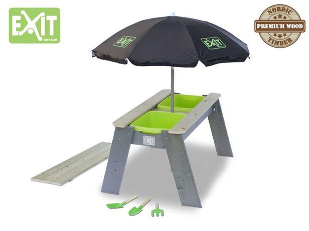 EXIT | Aksent Zand- en Watertafel L + EXIT Parasol + EXIT Ga