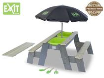 EXIT | Aksent Zand-,Water- en Picknicktafel (2 bankjes) + EX