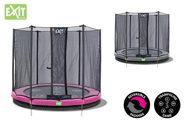 EXIT | Twist Ground 244 (8ft) Roze/Grijs + Safetynet 244 (8ft)