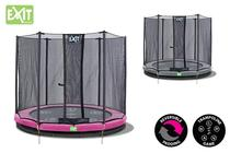 EXIT | Twist Ground 366 (12ft) Roze/Grijs + Safetynet 366 (12ft)