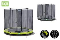 EXIT | Twist Ground 427 (14ft) Groen/Grijs + Safetynet 427 (14ft)