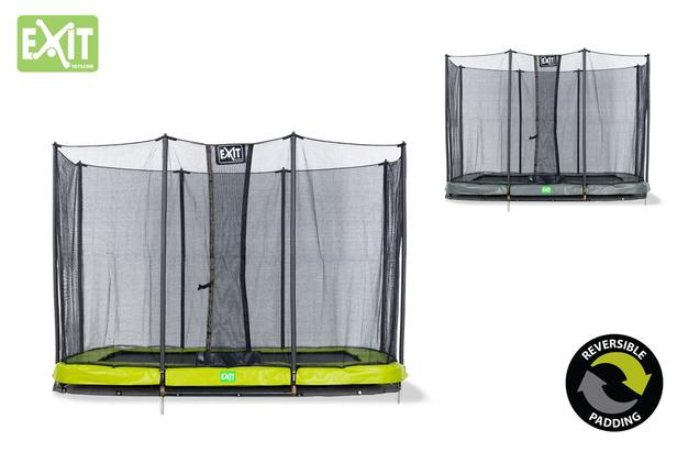EXIT | Twist Ground 214x305 (7x10ft) Groen/Grijs + Safetynet 214x305 (7x10ft)
