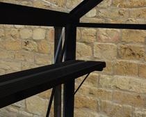 Royal Well | Schap Birdlip 44, geïntergreerd, zwart