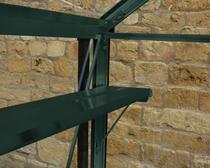 Royal Well | Schap Birdlip 84 & Burford 86 geïntergreerd, groen
