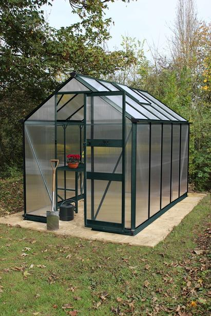 Royal Well | Burford 106, groen gecoat, polycarbonaat 6mm/1