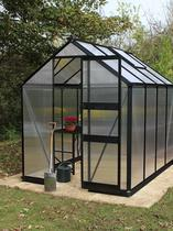 Royal Well | Burford 106, zwart gecoat, polycarbonaat 6mm/1