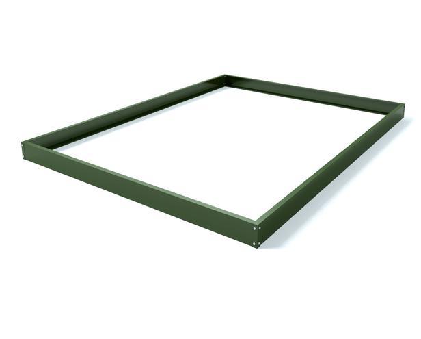 Royal Well | Fundering Silverline 106, groen gecoat