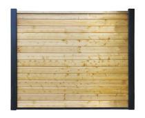 Betowood | Vuren scherm | 185 x 224 cm | Geimpregneerd