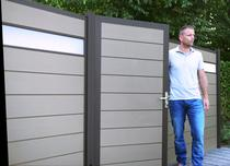 Woodvision | Composiet deur | Grijs