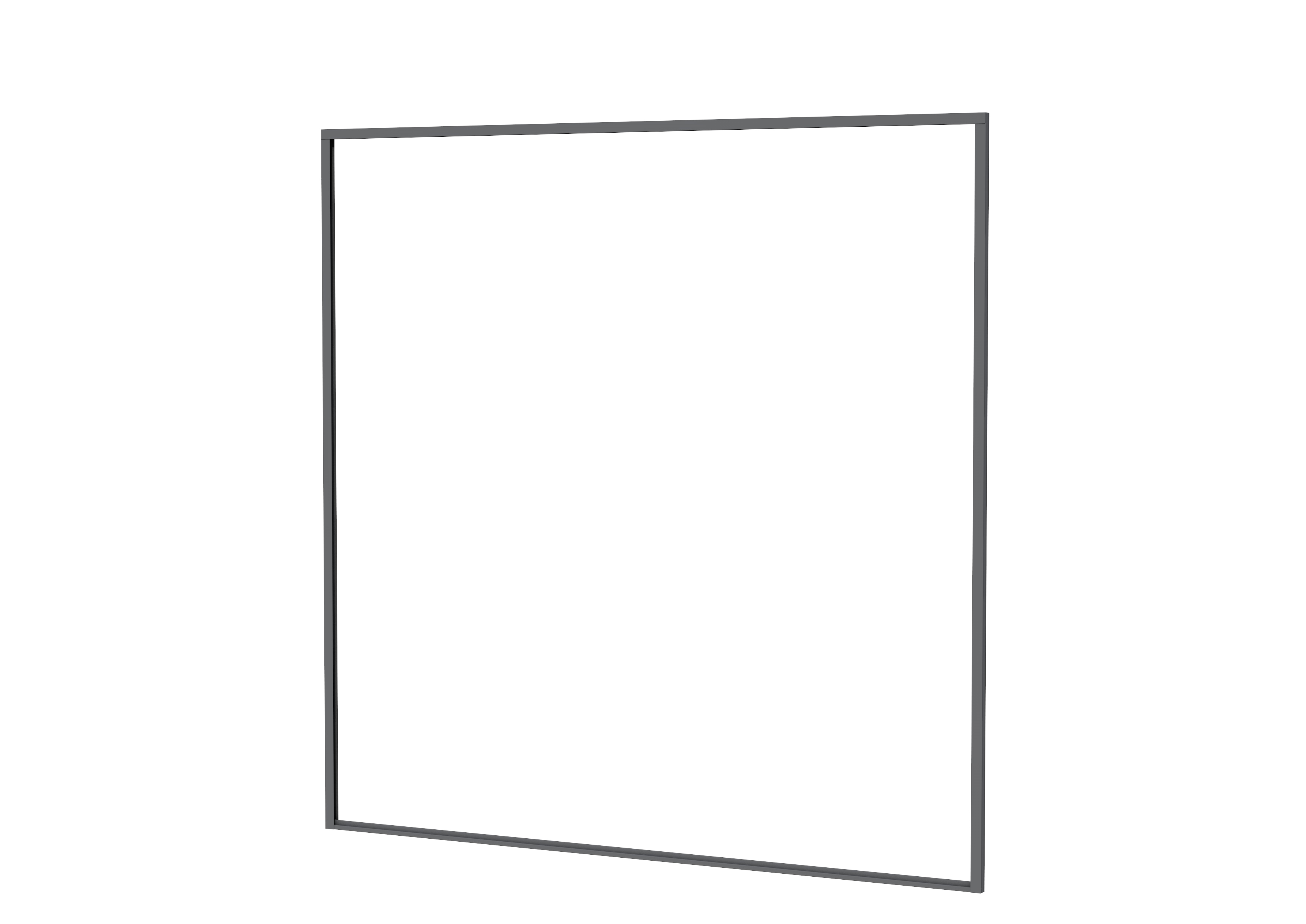 Woodvision | Profielenset tbv Composiet schutting | 181.5 x 200 cm