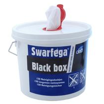 Handreiniger tissues Swarfega     black
