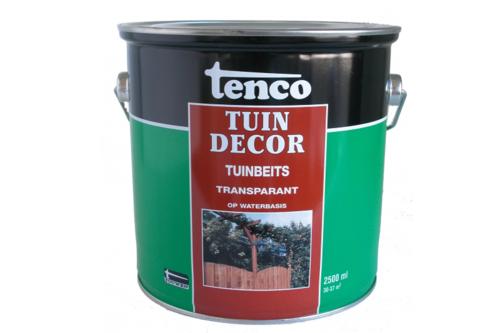 Tenco   Tuindecor Transparant 2500 ml   Op waterbasis   Groen