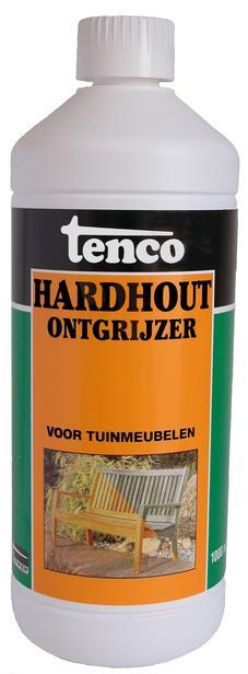 Tenco | Hardhout Ontgrijzer | 1000 ml.