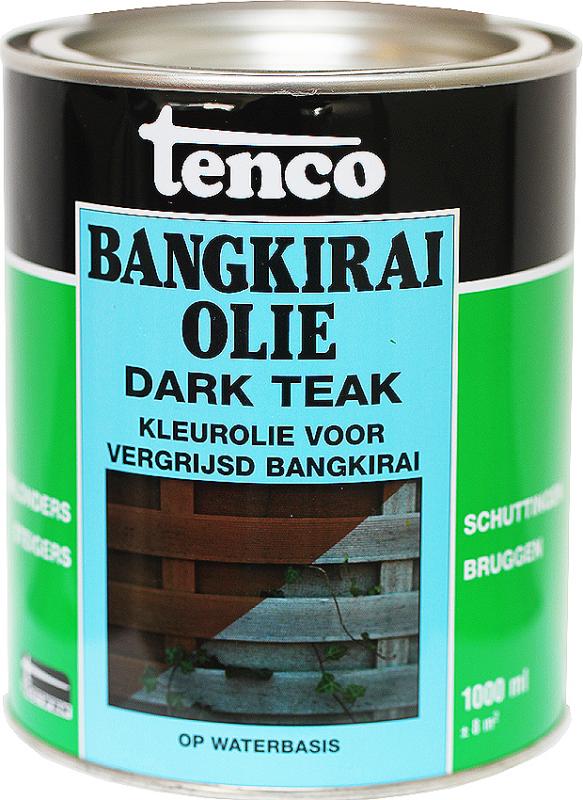 Tenco | Bangkirai Olie Dark Teak | Waterbasis | 2500 ml.